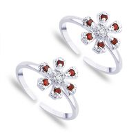 Appealing Silver Toe Ring-TR259