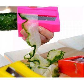 Cucumber Sharpener Peeler Kitchen Gadget Tool Vegetable Fruit Curl Slicer