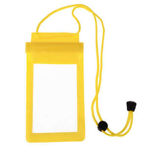 Mobile Waterproof Pouch For All Mobiles (Yellow)