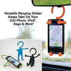 Multipurpose Flexible Hanging Holder for iphone/ipod/cell phone/keys/note pad, random