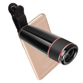 Surya Mobile Phone Camera Telescope Lens Kit, 12X Optical Zoom Universal HD Focus Telescope with Universal Clip for iPhone, Samsung Galaxy, HTC, Sony, LG & Most Smartphones