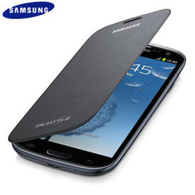 Samsung Galaxy S3 Flip Cover Black/White