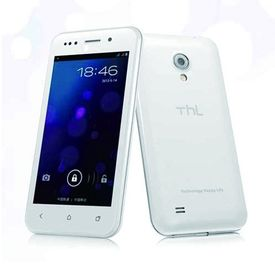 THL V12 MTK6575 1Ghz 4G ROM 512M RAM Android 4.0 4.0 inch IPS Screen GPS/AGPS WIFI WCDMA 3G Smart Phone - White
