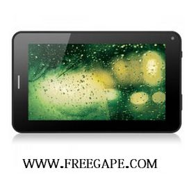 Freegape Brand S4 Android 4.0 Tablet Phone GSM 7   All Winner A13 1.5GHz Dual Cameras 4GB