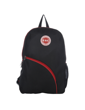 Estrella Companero Black Polyester Backpack