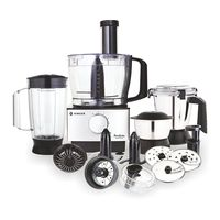 Singer Foodista Supreme 1000 W Food Processor,  silver