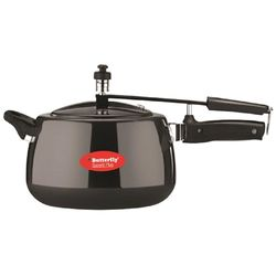 Butterfly Superb Plus Inner Lid Pressure Cooker 2 Litres,  black