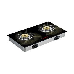 Butterfly 2 Burner Reflection Special edition Gas Stove,  silver