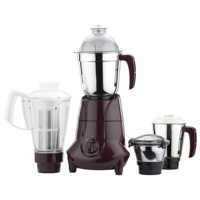 Butterfly Jet 750-Watt Mixer Grinder with 4 Jars,  cherry