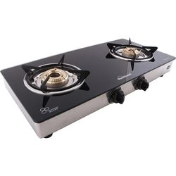 Sunflame Classic 2 Burner SS Gas Stove,  silver