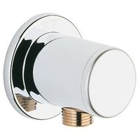 "Grohe Relexa Wall Union Shower Outlet Elbow, 1/2"" Male Thread# 28626000"