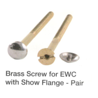 Viking Brass Screw For EWC With Show Flange# 9961, 3in / 75mm