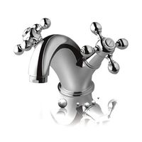 Hindware Othello Central Hole Basin Mixer W/O Pop up Waste System# F170007