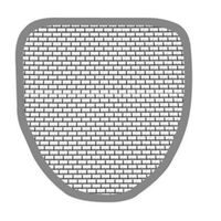 Duravit Accessories Urinal Screen# 005042