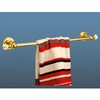 Hi-Life Crystal Towel Rail 24""