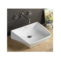 Glocera Dester Art Wash Basin# GS/WB/5039, ivory