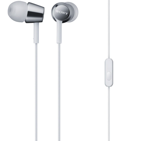 Sony MDREX150AP In-ear Headphones, White