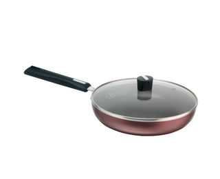 Induction Compatible Fry Pan With Lid, IJFP24, 240