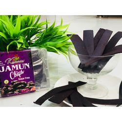 Jamun Chips - Sugar Free - 160gms (2 packs of 80gms)