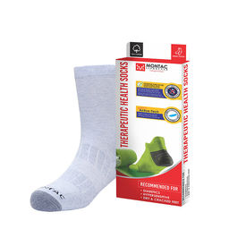 Montac Therapeutic Health Socks for Diabetics, grey