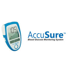 AccuSure Blood Glucose Monitoring System (Dr. Gene) + 25 strips
