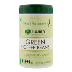 Green Coffee Beans - 250gms - Nutriwish's