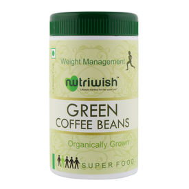 Green Coffee Beans - 250gms - Nutriwish s