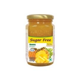 Sugarless Bliss Sugar Free Jam - Pineapple