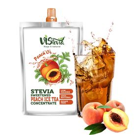 Peach Tea Concentrate - Sweetened with Stevia