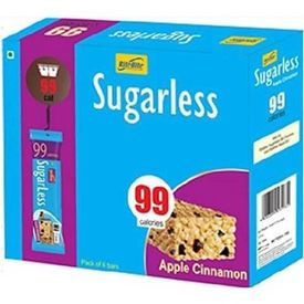 RiteBite Sugarless Bars, 6 Piece(s) /Pack Apple Cinnamon