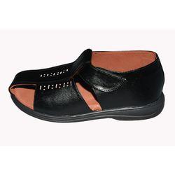 DIS - Diabetic Footwear - Men - Sandals - Non Leather - D505, black, 9