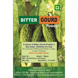 Bitter Gourd Karela Powder for Diabetics - 100 gms, 1