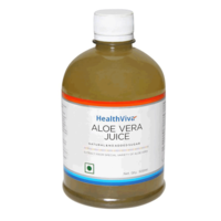 HealthViva HealthViva Aloe Vera Juice, 500 ml, pet bottle