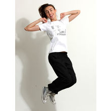 C152- T-shirt & Pyjamas, m,  black