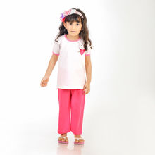 CUTE101- Cute hearts lounge wear, 3,  pink