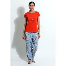 C162- T-shirt & Pyjamas, s,  blue