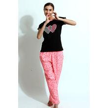 C169- T-shirt & Pyjamas, m,  pink