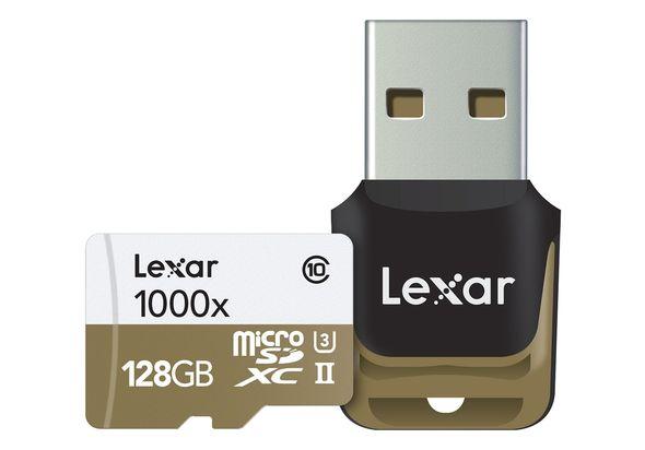 Lexar Professional 128GB 1000x microSDHC /microSDXC UHS-II Card