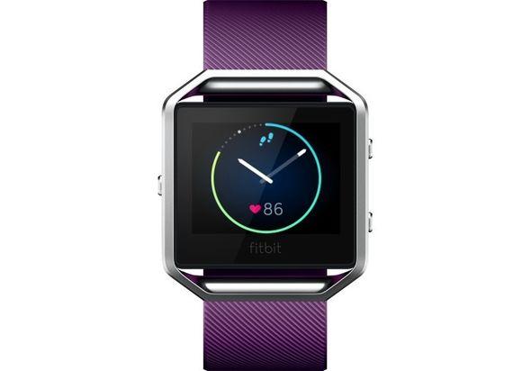 Fitbit Blaze Smart Fitness Watch Small, Plum