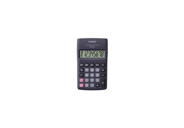 Casio HL815LBK-R Portable Type Calculator