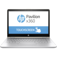 "HP Pavilion x360 14-BA005NE i7 8GB, 128GB 14"" Laptop, Gold"