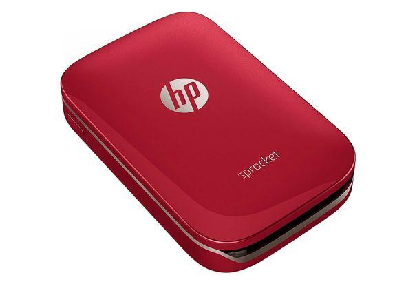 HP Sprocket Photo Printer, Red