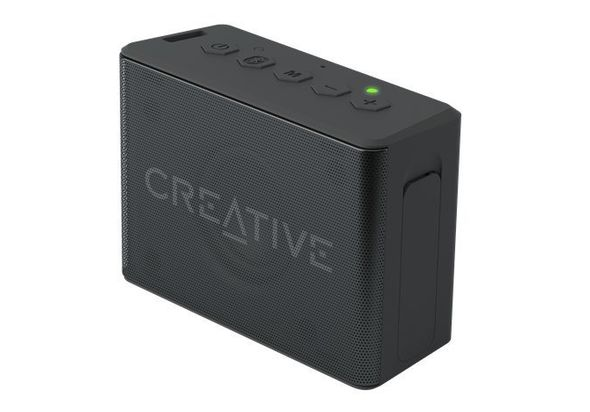 Creative MUVO 2c Palm-sized Water-resistant Bluetooth Speaker, Black