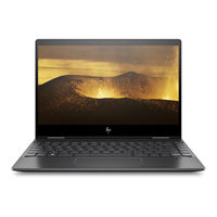 "HP ENVY X360 R5 8GB, 256GB 13"" Laptop, Black"