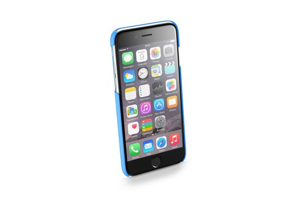 Cellularline SATIN Hard Case For iPhone 6/6S, Blue