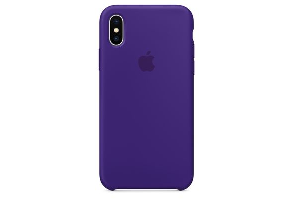 Apple iPhone X Silicone Case, Ultra Violet