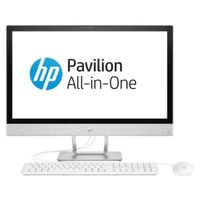 "HP Pavilion i7 8GB, 2TB+ 16OP 27"" All-in-One Desktop, White"