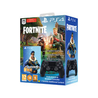 Sony PS4 DualShock 4 Wireless Controller with Fortnite Voucher