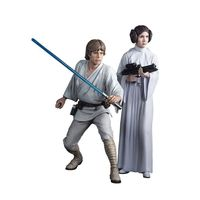 Comicave Studios Star Wars Luke Skywalker+ ACY- Princess Leia Artfx Statue