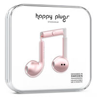 Happy Plugs Earbud Plus, Pink Gold